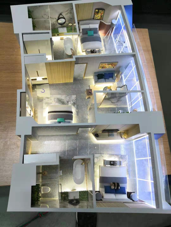 建筑商业模型 户型模型