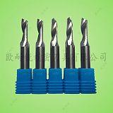 鎢鋼單刃鋁用刀 雕刻鋁板切割刀 硬質合金單刃銑刀 鏤空切割刀;