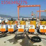 液压水泥砂浆泵双缸同时灌浆;