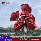 濟南不銹鋼售樓處雕塑景觀玻璃鋼雕塑造型鍛銅鑄銅雕塑;