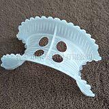 塑料异鞍环厂家 PP马鞍形填料 供应双孔异鞍环 四孔PP异鞍环