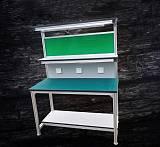 南京江宁铝型材工作台 防静电工作桌 型材架子 流利条 铝合金操作试验台