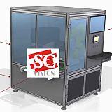 高压陶瓷+玻璃回转体自动化尺寸测量设备