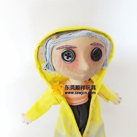 东莞鬼妈妈动漫毛绒玩具定制东莞玩具厂玩具加工厂
