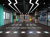 廣東智龍體育智能健身光電地板運動地板訓練系統