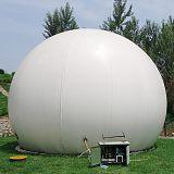 養豬場沼氣排污用雙膜氣柜效果怎么樣;