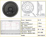 泉州工厂45MM圆形铁壳纸盆喇叭 16欧2w语音对讲机扬声器;