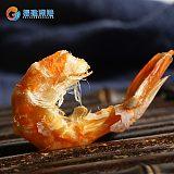 烤虾干炭烤大虾即食大号软壳对虾海鲜干货孕妇儿童休闲零食无添加;