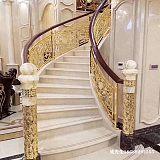 重庆实用铝艺楼梯护栏 铝板雕花护栏2020年价格;