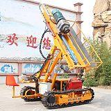 30米履帶巖石電鉆 邊坡支護錨固鉆機價格 履帶鉆機;