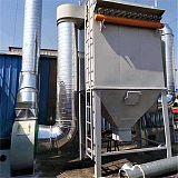 水泥粉包裝2000風量除塵器36濾袋回收除塵箱體檢修口;