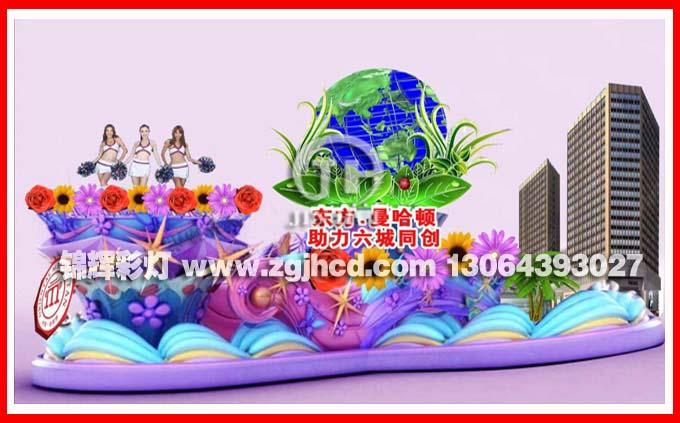 广州巡游彩车制作 花车制作 彩船制作质量好价格低