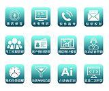 深圳曼霏商务录音话机带客户管理系统支持放音录音短信弹屏;