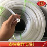 浙江耐高温高透明硅胶密封条白色硅胶管橡胶棒管;