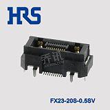 HRS廣瀨矩形連接器FX23-20S-0.5SV鍍金觸頭貼裝型插座;