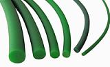 pu聚氨酯光面糙面內置鋼絲圓帶工業皮帶生產廠家直銷;