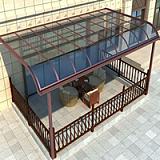 怡墅铝合金雨棚/遮阳棚/遮阳雨棚厂家
