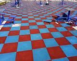 廣東華體體育戶外地墊室外橡膠地墊;
