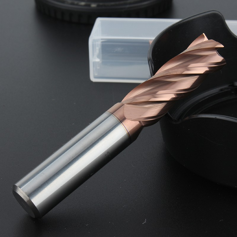 55度钨钢铣刀4刃平底立铣刀