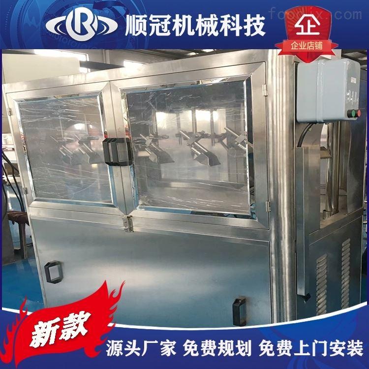张家港顺冠饮料生产线风刀吹干机 灌装生产线吹水机 瓶身风力烘干机