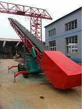 黑河移動式轉向伸縮輸送機 糧食輸送機廠家;