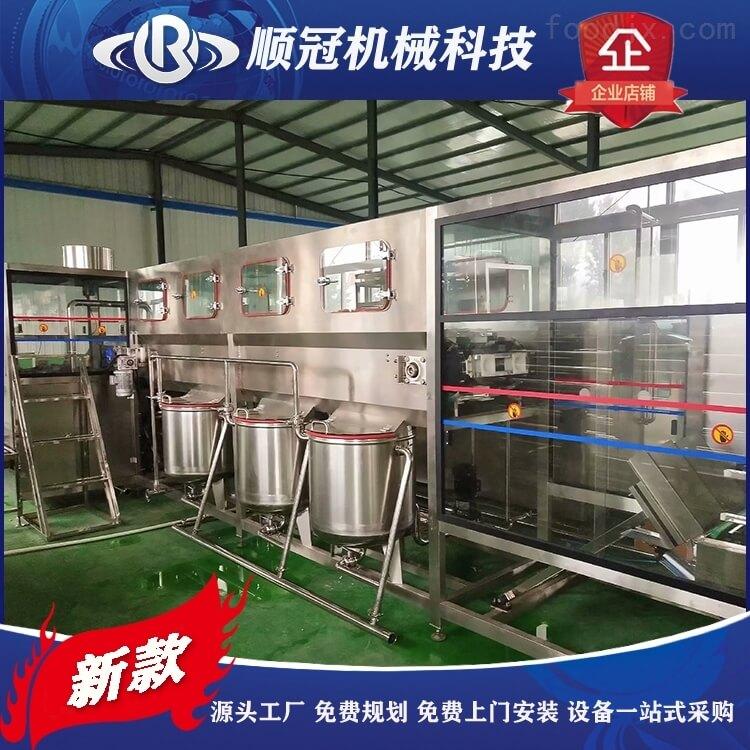 顺冠大桶水生产线设备桶装水灌装机纯净水厂设备