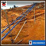 工程機械爬山虎上料機 山岥運輸軌道混凝土提升機 水泥砂漿上料機;