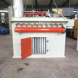 一萬風量塑燒板除塵器廠家價格