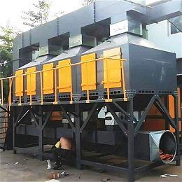 一萬風量催化燃燒設備工作原理及廠家價格