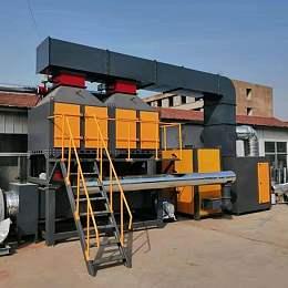 五千風量催化燃燒設備工作原理及廠家價格