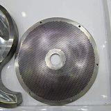 擠塑板過濾器網板s型刮刀鋁塑板網片造粒機過濾網廠家無絲網制造商;