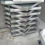 不锈钢井盖格栅线性排水沟盖板装饰**窨井盖制作