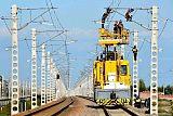 電氣化軌道供電;