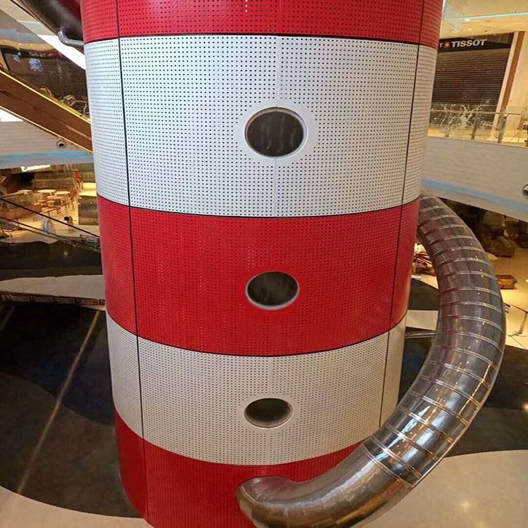 電梯鋁板定制 中庭包柱鋁單板 木紋鋁板批發