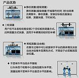 3D四輪定位儀固定橫桿雙屏款DT201AT;