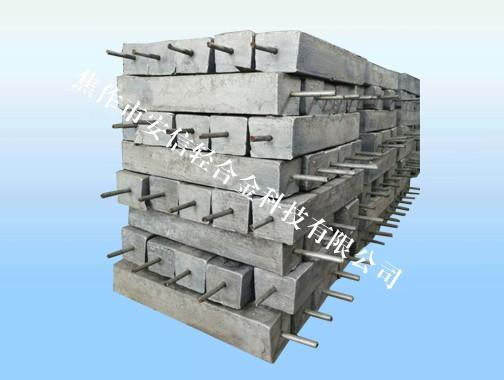河南镁阳极生产厂家、8公斤焊线镁阳极包