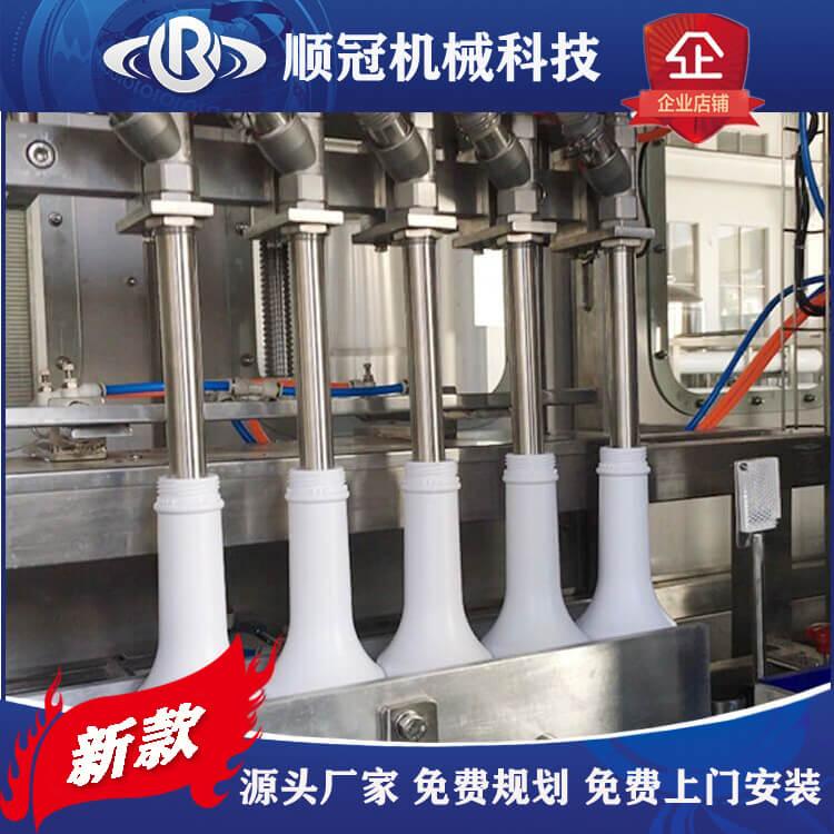 果汁饮料热灌装机 全自动倒瓶杀菌机 喷淋杀菌冷却机
