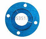 烟台石川仙阁耐油无石棉芳耐油纶纤维蓝色垫片按图示加工;