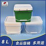 生產廠家2L 3L 4L 5L 6L 10L圓桶 8L方桶 塑料容器 食品級直銷;