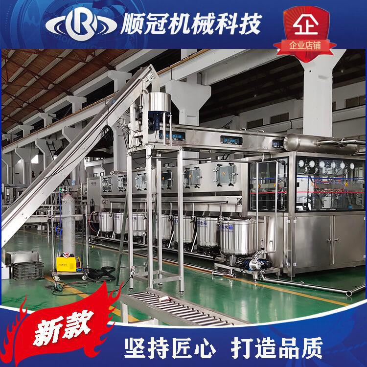 3加仑桶装水灌装机 纯净水厂设备
