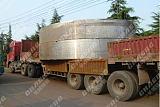 回转窑轮带贝博体育苹果app厂生产直径2米以上滚圈铸钢材质;