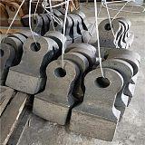 锤式粉碎机锤头铸造耐磨锤头 高铬合金锤锰钢锤头;