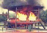 交通运输载具火灾模拟系统真火训练设施;