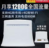 中兴 ZTE MF283U 4G无线路由器CPE;