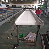 上海定做食品皮带传送带食品包装流水线;