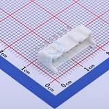 PA 2.0mm间距连接器 直插带扣针座 08P-星坤电子;