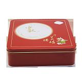 东莞厂家生产月饼铁盒 正方形月饼铁盒 礼品包装铁盒定制;
