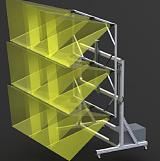 卫星太阳电池板稳态光源设备;