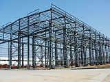 新疆大跨度钢结构厂房-远东伟业;