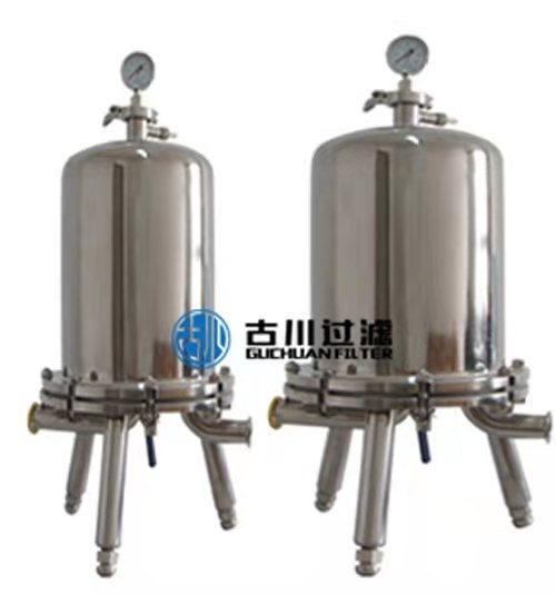 石家庄古川供应钛棒过滤器,单芯多芯,可根据流量选择。